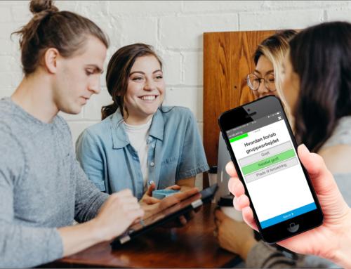 Netværks-appen: vores brugere er fortsat meget aktive
