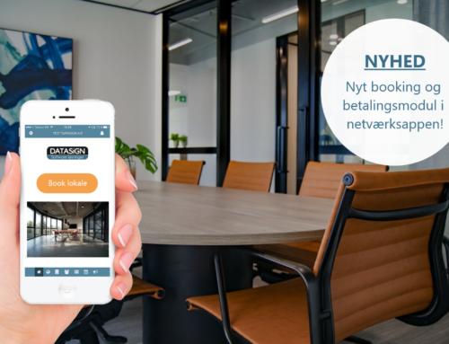 Nyt booking modul til Netværksappen